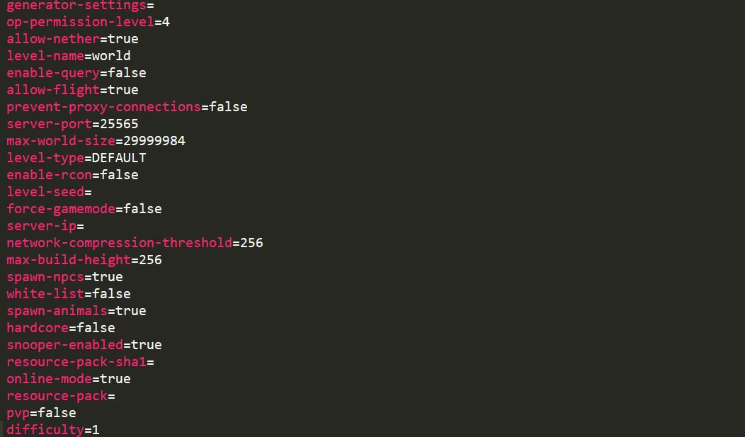 コピペで簡単!マイクラマルチサーバー設定&「server.properties」項目解説